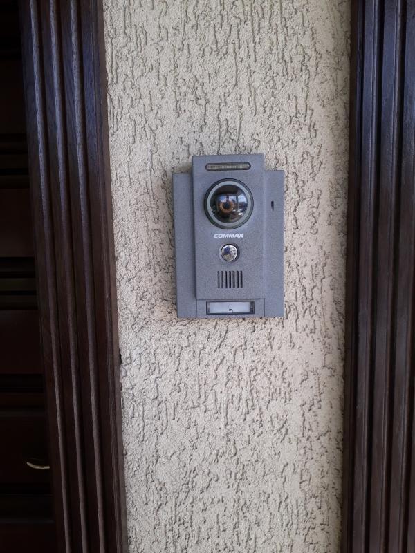 Videointerfon Commax exterior